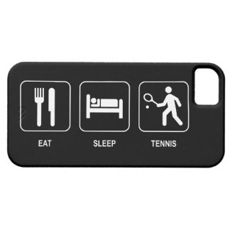 Eat Sleep Tennis Case For The iPhone 5