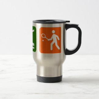 Eat Sleep Tennis Travel Mug