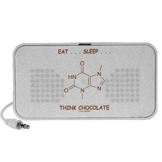 Eat ... Sleep ... Think Chocolate (Theobromine) Speaker System
