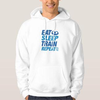 Eat Sleep Train Repeat Hoodie
