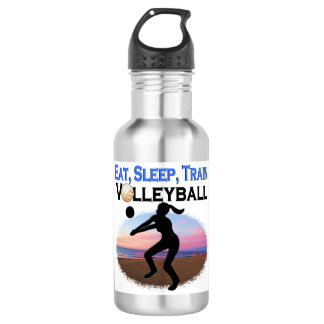 EAT, SLEEP, TRAIN VOLLEYBALL 532 ML WATER BOTTLE