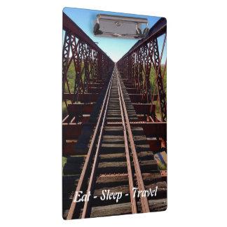 Eat Sleep Travel Oodnadatta Track clipboard