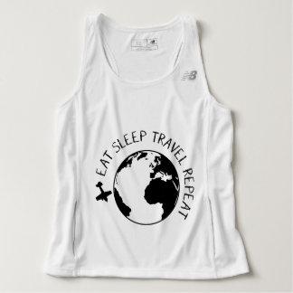 Eat Sleep Travel Repeat Singlet