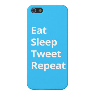 Eat Sleep Tweet Repeat - iPhone Case Cover For iPhone 5/5S