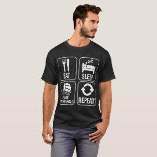 Eat Sleep Water Polo Repeat Lifestyle Tshirt