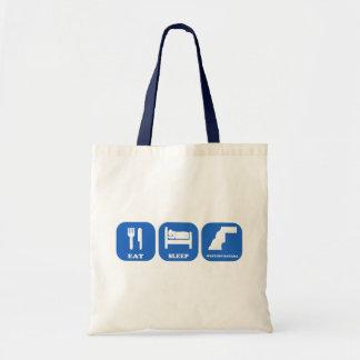 Eat Sleep Western Sahara Tote Bag