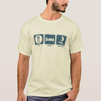 eat, sleep, windsurf T-Shirt