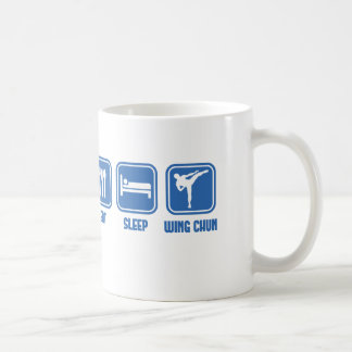 Eat Sleep Wing Chun Martial Arts cup gift idea