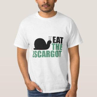 Eat the Escargot Land Snail Delicacy T-Shirt