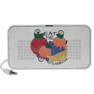 Eat The Rainbow Travel Speakers