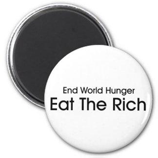 Eat The Rich Magnet