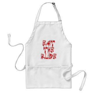 Eat The Rude Standard Apron