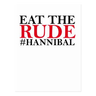 Eat The Rude Tee Shirt G.png Postcard