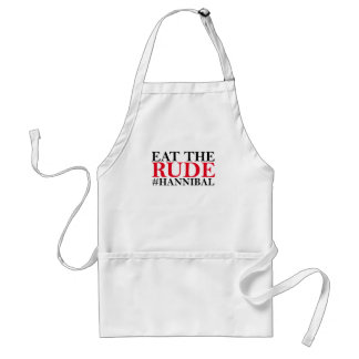 Eat The Rude Tee Shirt G.png Standard Apron