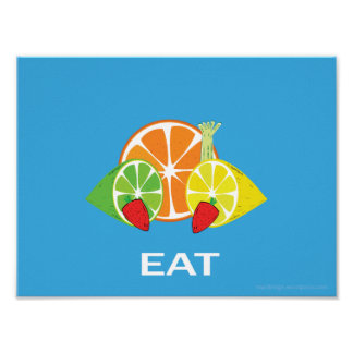Eat Up - Eat Healthy Posters