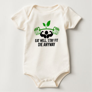 eat well baby bodysuit