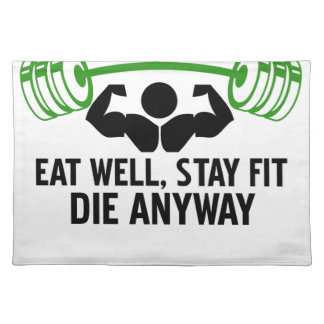 eat well placemat