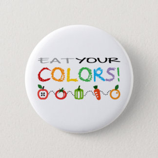 Eat Your Colors! 6 Cm Round Badge