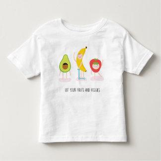 Eat your fruit and veggies toddler T-Shirt