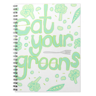 eat your greens notebooks