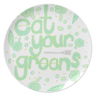 eat your greens plate