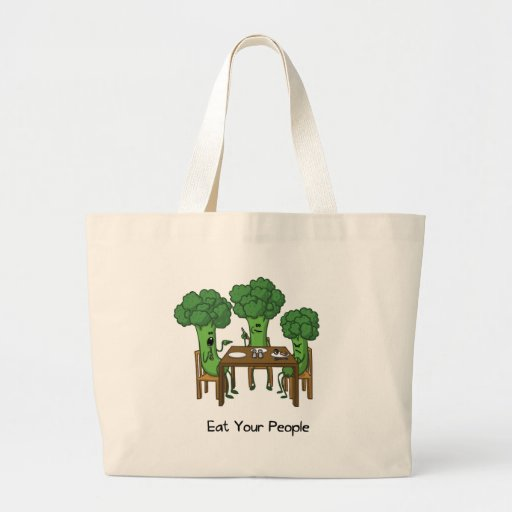 Eat Your People Tote Bags
