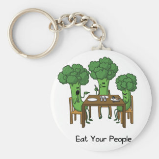 Eat Your People Key Ring
