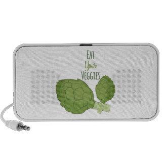 Eat Your Veggies iPod Speakers