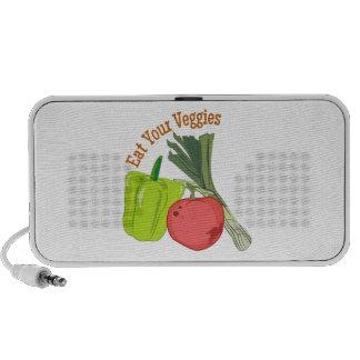 Eat Your Veggies Mp3 Speakers