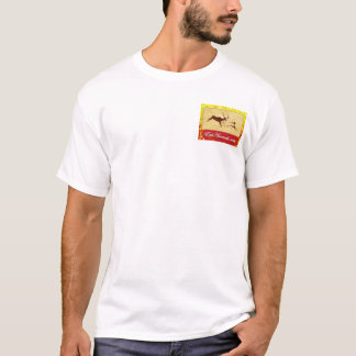 EatAnimals.com Autumn Logo Henley T-Shirt
