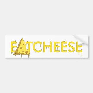 eatcheese bumper sticker