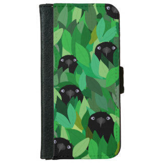 Eating Crow iPhone Wallet Case