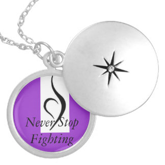 Eating Disorder Recovery Silver Plated Necklace