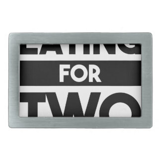 Eating for Two Belt Buckles