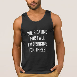 Eating For Two Drinking For Three Singlet
