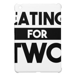 Eating for Two iPad Mini Cover