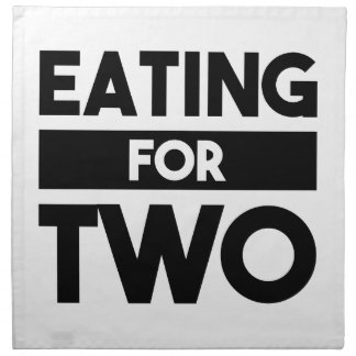 Eating for Two Napkin