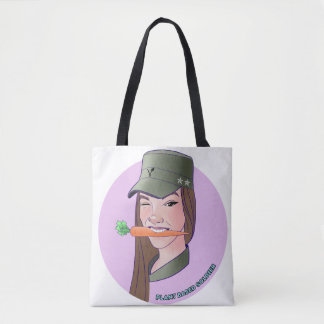 Eating from the ground up tote bag