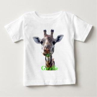 eating giraffe tee shirt
