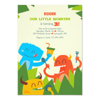 Eating Monsters Invitation