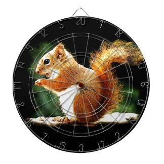 Eating Squirrel Dartboard
