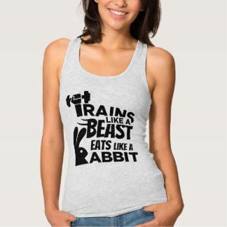 Eats Like A Rabbit, Trains Like A Beast Singlet