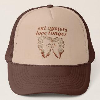 Eats Oysters Love Longer Mesh Trucker Hat Cap