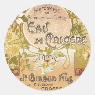 Eau de Cologne Ambree Stickers