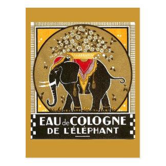 Eau de Cologne de l'elephant Postcard