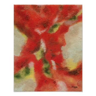 Ebb and Flow Abstract Art Original Painting Poster