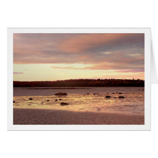 Ebb Tide in the Morning Card