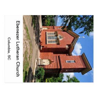 Ebenezer Lutheran Columbia South Carolina Postcard