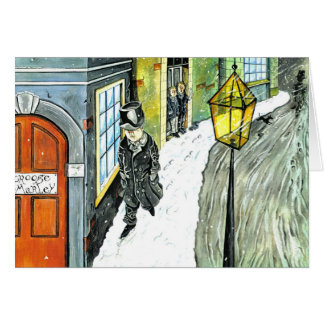 Ebenezer Scrooge Card