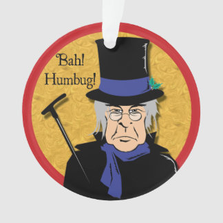 Ebenezer Scrooge Ornament